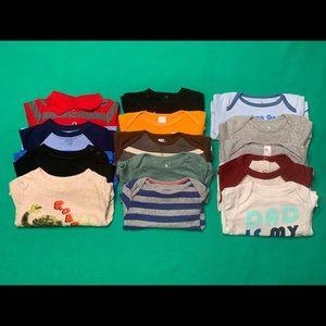 Baby Boy LS Bodysuit Bundle